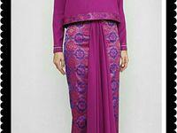 Batik sarongs and kebayas