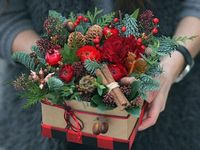 букети новорічні