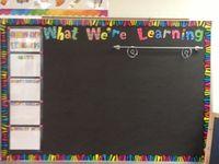 Classroom boards/deco ideas
