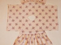 Baby dresses sewing