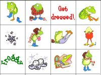 1000 images about froggy gets dressed on pinterest the for Froggy gets dressed template