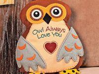 OWLS... I LOVE IT!