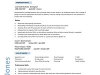 resume on Pinterest | Professional Resume Template, Caregiver and ...