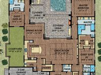 Home Plan Ideas On Pinterest Tuscan House Plans Spanish And Villas