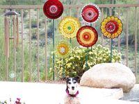 Outdoor charm, windchimes, and suncatchers