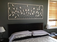 17 best images about over the bed decor on pinterest - Over the bed art ...