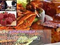 Gulnar Bar Be Que / Gulnar offers a choice of non vegetarian and vegetarian products in semi cooked and raw form which can be easily barbequed at home or outdoor.