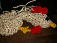 anna the beanie lady / crochet character beanies