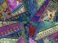 4 CRAZY Quilting & COLOR My World Passion