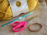 Crochet Hair Rubber Band : ... rubber bands on Pinterest Scrunchies, Hair scrunchies and Crochet