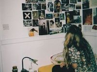 Soft grunge room ideas
