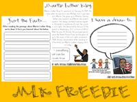 SLP Dr. Martin Luther King Day Freebies