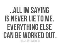 just saying ....
