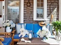 Transitional Exterior By Bloom Interior Design Weatherboard
