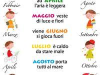 Schede italiano prima