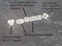 22 Best Hallmarks Images On Pinterest Antique Silver