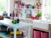 17 best images about artsy kitchens on pinterest drop for Artsy kitchen ideas