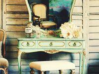 Винтаж косметичка: лучшие изображения (18) | Antique Furniture ...