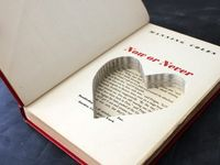 Recycle an old book into something exciting and new! (just not a library book, please)
