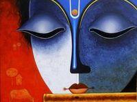 200 Krishna Acrylic Painting Ideas In 2021 Painting Krishna Painting Indian Art