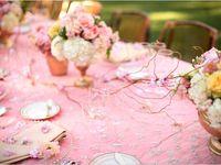 Sweet Pink Wedding Decor