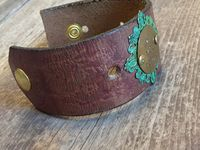 leather cuff and stamping ideas