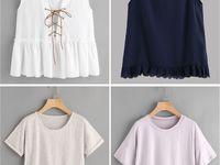 Idea แบบเสื้อ-กางเกง-กระโปรง