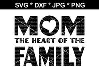 Baby Kids Family Svg Dxf Cutting Files