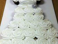 wedding cupcake dresses