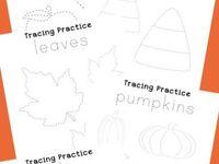 Preschool Handwriting /Tracing sheets