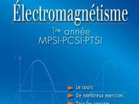 Livre Electromagnetisme Hprepa Mpsi Pcsi Ptsi 1er Annee Pdf Ebook Elearning Books