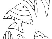 19 Best Fish Cut Outs Images Pisces Fish Stencil Paintings