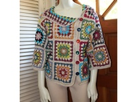 crochet , tricot / j 'aime crocheter et tricoter des petites choses utiles !