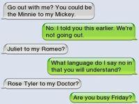 Romeo to my Juliet