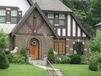 Tudor style homes and details