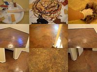 Stained / Painted concrete