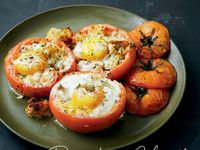 Lidia S Kitchen Baked Eggplant With Tomatoes