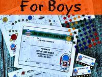 Pinterest group board: Boys will be BOYS!