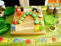 Very Hungry Caterpillar Party theme