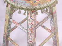 Furniture painted stools