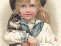 cats vintage image & advertising