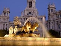 La Cibeles Fountain Plaza De La Cibeles Madrid Spain Photographic Print Alan Copson Art Com Spain Places To Go Madrid Spain