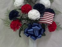 memorial day graveside decorations
