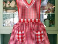 Lots of patterns and ideas for that most useful piece of clothing - the lowly and lovely APRON