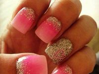 Shoes, clothing, hair and nails....I love all the Girly stuff