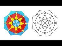 رسم وحدة زخرفية لا نهائية زخرفة سهلة وبسيطة زخرفة النجمة الثمانية Islamic Geometric Youtube Coasters