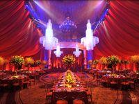 For glamorous, luxurious weddings.