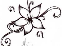 29 Best Images About Henna Stencil Flower On Pinterest