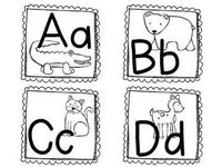 free zoo phonics coloring pages - photo#37
