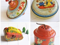Speelgoed  en old toys